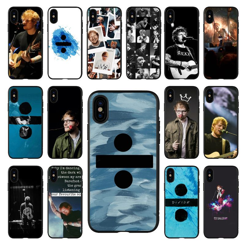 La cantante de Pop Star Ed Sheeran foto funda de teléfono suave para Apple iPhone 11 8 7 6 6S Plus X XS X MAX 5 5S SE XR 11 pro cubierta Coque Shell