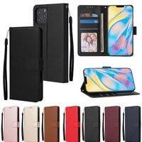 Чехол-бумажник с откидной крышкой для iPhone 12 Pro Max с ремешком, фоторамка, слоты для карт, подставка для iPhone 11 XS Max XR X 8 7 6S 6 Plus SE 2020