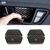 for vw golf 7 mk7 vii 2013 2014 2015 2016 2017 4pcs carbon fiber car door handle bowl cover trim