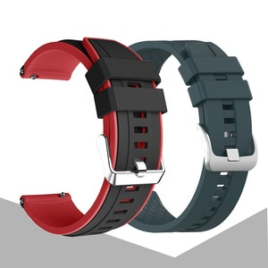 20mm Sports Replacement Strap For Amazfit GTS 2 Silicone Watchband For Huami Amazfit GTS 2E/GTS 2 Mini Bracelet Wirstband Correa