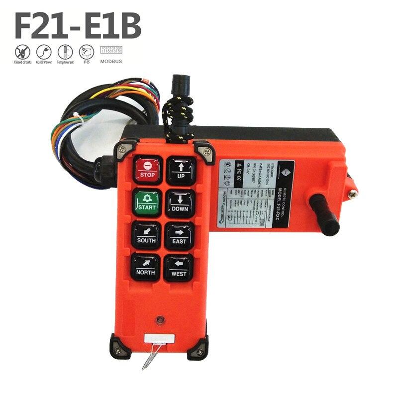 Free Shipping f21-e1b industrial Wireless Radio Crane Remote Control R F21-E1B for overhead crane hoist lift