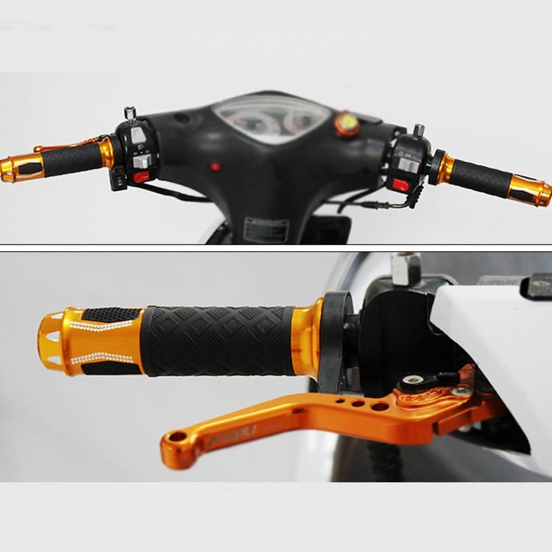 Acelerador de Giro eléctrico de 22cm, 12V-24v, para bicicleta eléctrica, Scooter, motocicleta,...