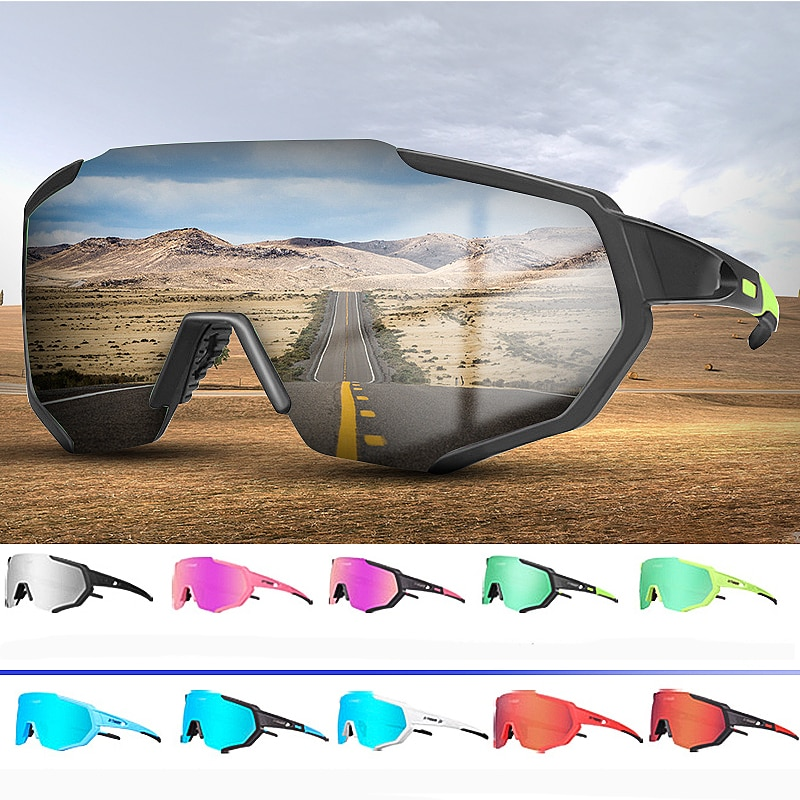 Eliteson Cycling Goggles Polarized Lens Motorcycle Glass Dirt Bike Off Road Eyewear UV Protection ATV Mountain Bicycle Sunglass 1x silver vintage motocross goggles anti uv scooter motorcycle glasses atv skiing cycling off road eyewear sunglasses brown lens