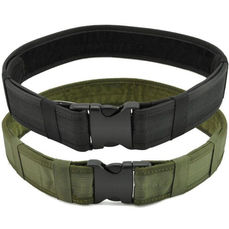 Cinturón de cinturón deportivo para uso en exteriores, táctico, resistente, multifuncional, ajustable, senderismo, escalada, carga
