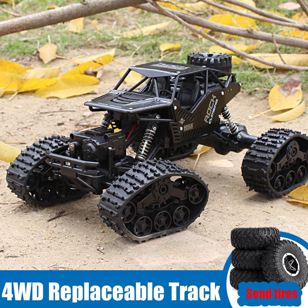 سيارة على الطرق الوعرة يتم التحكم فيها عن طريق الراديو للأطفال ، لعبة سيارة بجهاز تحكم عن بعد ، 1:12 4WD ، 2.4 هرتز