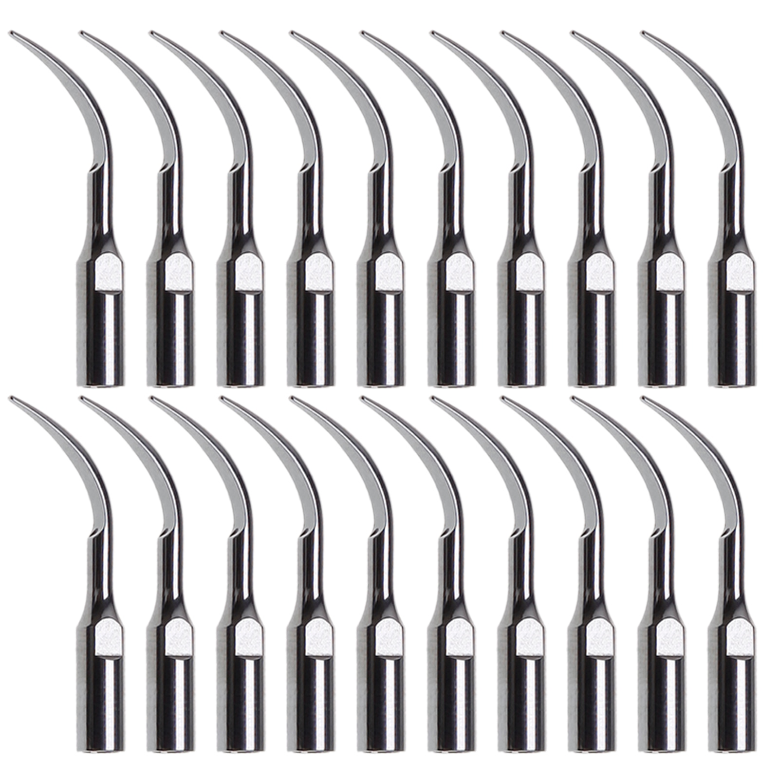 20 шт. стоматологические наконечники GD1, ультразвуковые наконечники, подходят для наконечника DTE Satelec Scaler