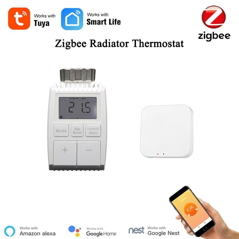 Zigbee-ترموستات ذكي ، سخان ذكي ، مع تحكم لاسلكي ، تدفئة أرضية كهربائية ، متوافق مع Alexa