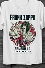 Frank zappa tatu poster austin texas nightclub vintage unisex t camisa b214 streetwear casual camiseta