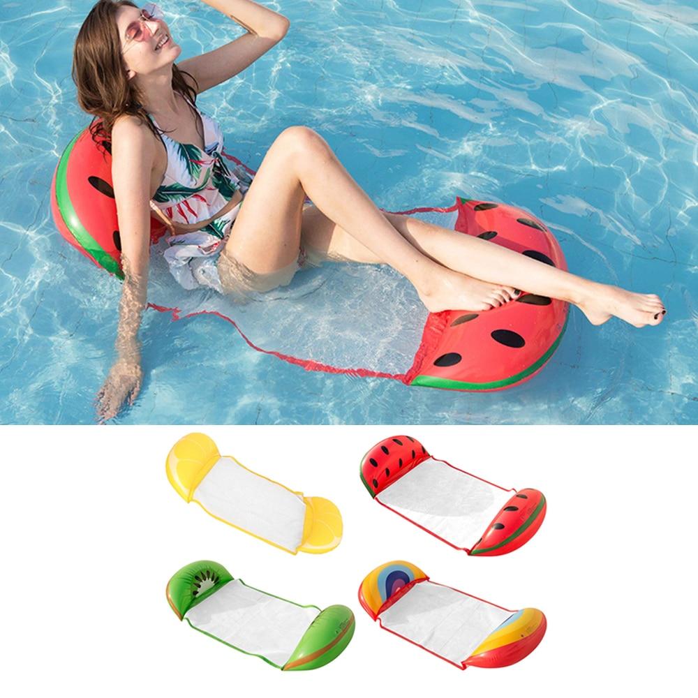 Colchón de aire inflable, piscina, hamaca de agua flotante, tumbona, silla, juguetes de verano, hamaca de agua, cama, tumbona flotador, silla