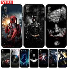 Marvel Deadpool Batman The Joker Cover For Huawei Y5 Lite Y6 Prime 2018 2019 Y7 Y9 Prime 2019 Case For Honor 7A Pro 8S P Smart Z