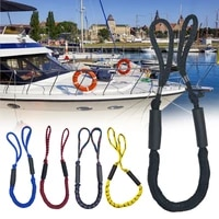 2pcs set bungee dock line mooring rope for boat 4 ft 2 ropes rope bungee cord dockline boats kayak accessories