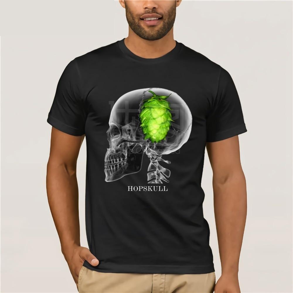 Lúpulo cerveza camiseta artesanal botellas de cerveza Logo Microbrew inicio camisas de cerveza IPA Pale Ale divertidas camisetas de cerveza