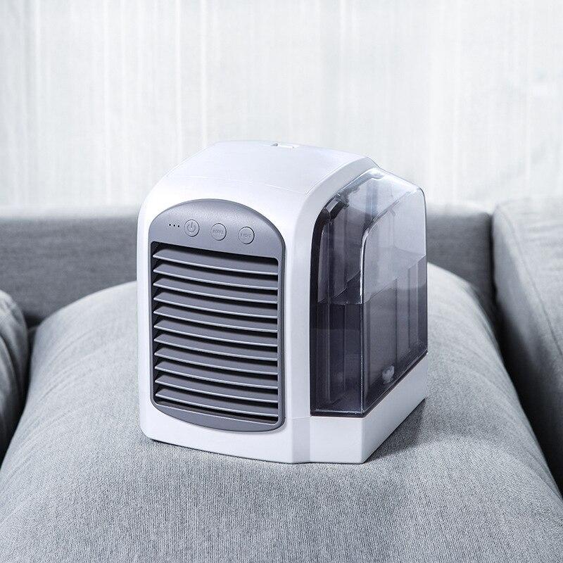 محمول مكيف هواء صغير مبرد الهواء متعددة الوظائف تنقية المرطب للمنزل مكتب هادئة التبريد مكيف الهواء الصغيرة