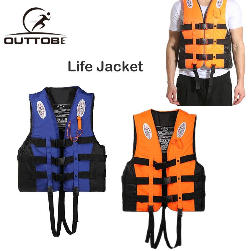 Outtobe Регулируемый спасательный жилет, костюм для выживания, для плавания, катания на лодках, для катания на лыжах, для серфинга, для выживани...