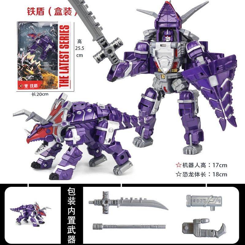 jo s toy dino rivals roarivores metriacanthosaurus dinosaur toys sound effect action figure toys boy gift movie section in stock 5 in 1 Sets Dinosaur Robot Transformation Action Figure Tyrannosaurus Set Deformation Educational Boy Gift Kid Toys purple