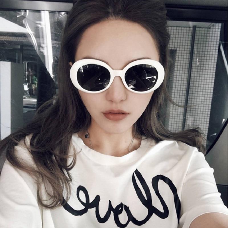 Round Oversized Sunglasses Women 2021 Fashion Sun Glasses Vintage Retro Glasses Goggles Shades For M