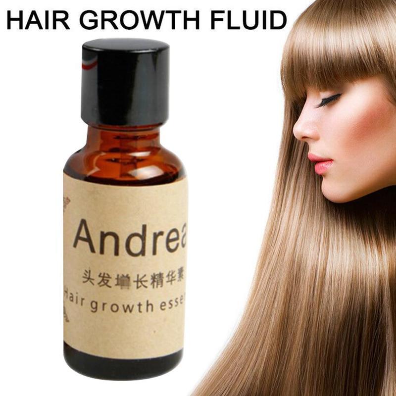Andrea Hair Growth Serum Oil Herbal Keratin Fast Hair Growth Alopecia Loss Liquid Ginger Sunburst Yu