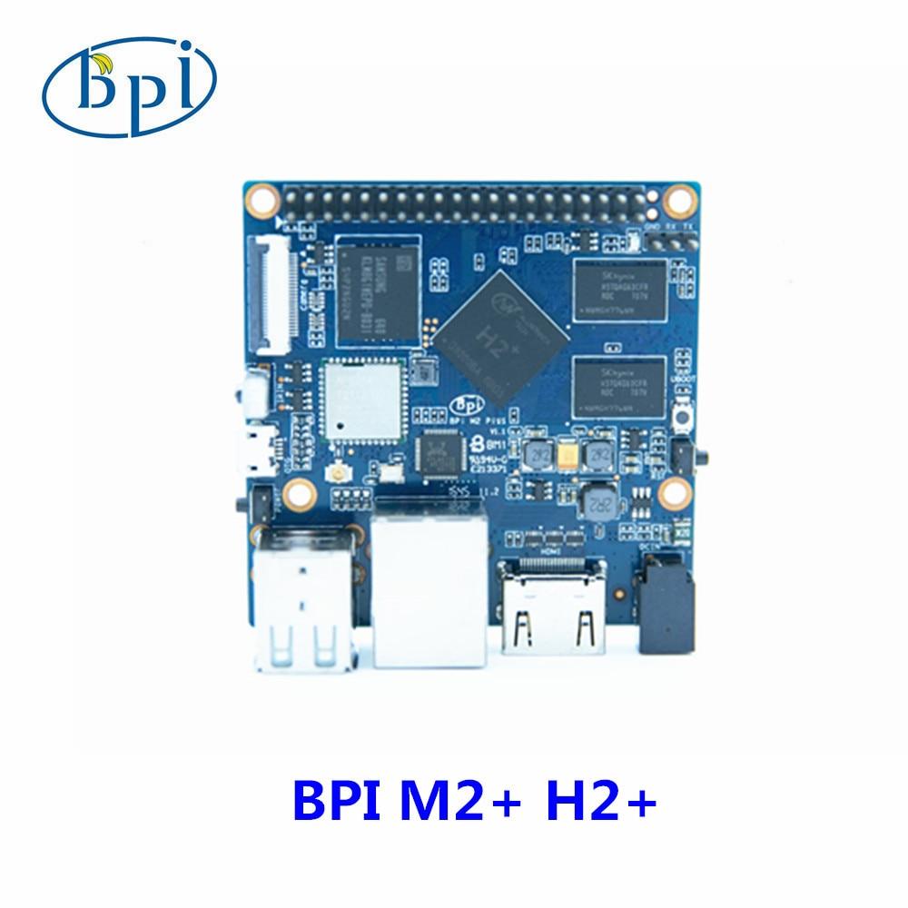 Allwinner H2 + رباعية النواة البسيطة A7 SoC BPI-M2 زائد الموز بي مجلس