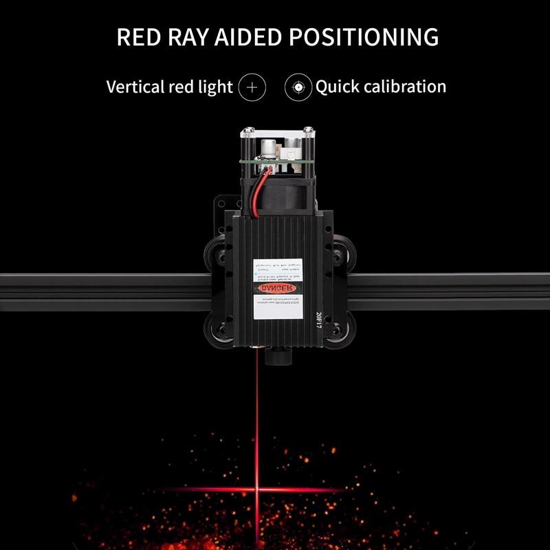 Macchina per incisione laser CNC 7000/20000 mw, macchina da taglio - Attrezzature per la lavorazione del legno - Fotografia 6