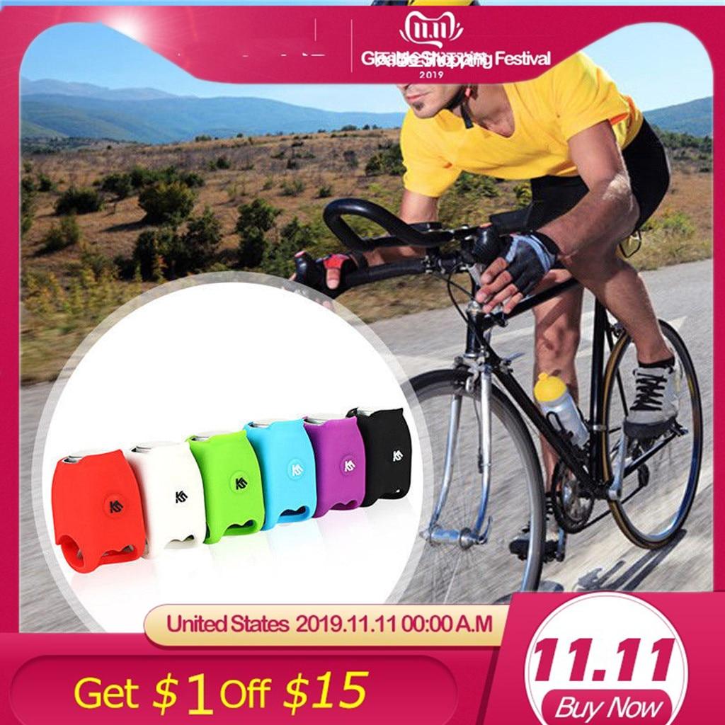 6 tipos de voces 120 dB bicicleta de silicona electrónica accesorios de claxon advertencia bicicleta de montaña equipo de equitación IPX4 impermeable 20