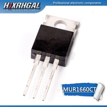 1pcs MUR1660CT OM-220 U1660G TO220 dual diode snel herstel