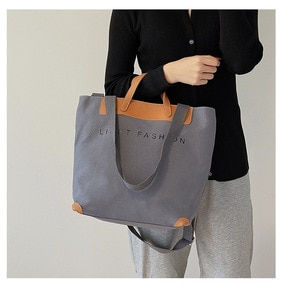 Large Capacity Canvas Bag Luxury Designer Top-handle Bags for Women Female Fashion Purses and Handbags High Quality Shoulder Bag
