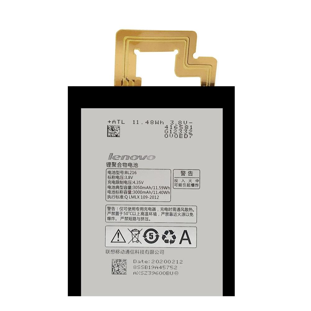 20pcs/lot Original Battery BL216 For Lenovo Vibe Z K910 K910E High Quality Phone Batteria In Stock With Repair Tools 3000mAh enlarge