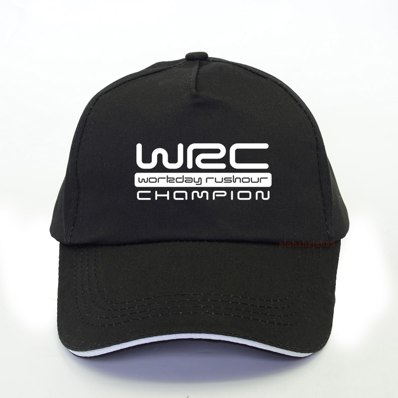 New WRC Logo Print baseball cap European and American World Rally Championship WRC Style men snapback hats Racing cap wrc 7