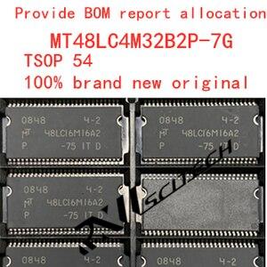 100% new memory granule MT48LC4M32B2P-7G tsop86  SDRAM routing upgrade memory provides BOM allocation