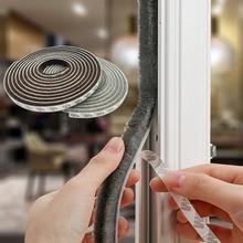 1 Meter Klebestreifen Türen und Windows Abdichtung Streifen Wc Fenster Glas Bad Hause Warme Wind Tür Isolierung Pad