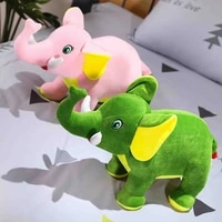 1pc kawaii elephant plush calm toy couple plush dolls stuffed animal plush toy wedding children party toys decoration kids gifts