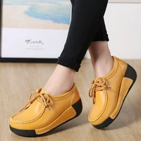 genuine leather sneakers womens chunky autumn shoes 2021 new arrival fashion platform sneakers woman shoes