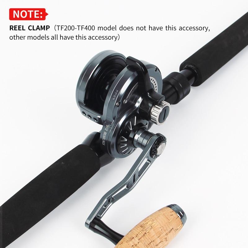6.3:1 Gear Ratio CNC Slow Jigging Reel 30kg Max Drag Saltwater Trolling Reel Offshore Deep-Sea Fishing 9+2 BB Slow Jigging Wheel enlarge