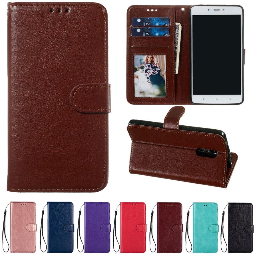 حافظة جلدية لهاتف شيا mi 5X 6X 7 8 9 SE 9T Lite Red mi 4X 6 7 Note 4 6 7 10 K20 Pro Mi Play F1 محفظة حامل هاتف جراب Coque Bags