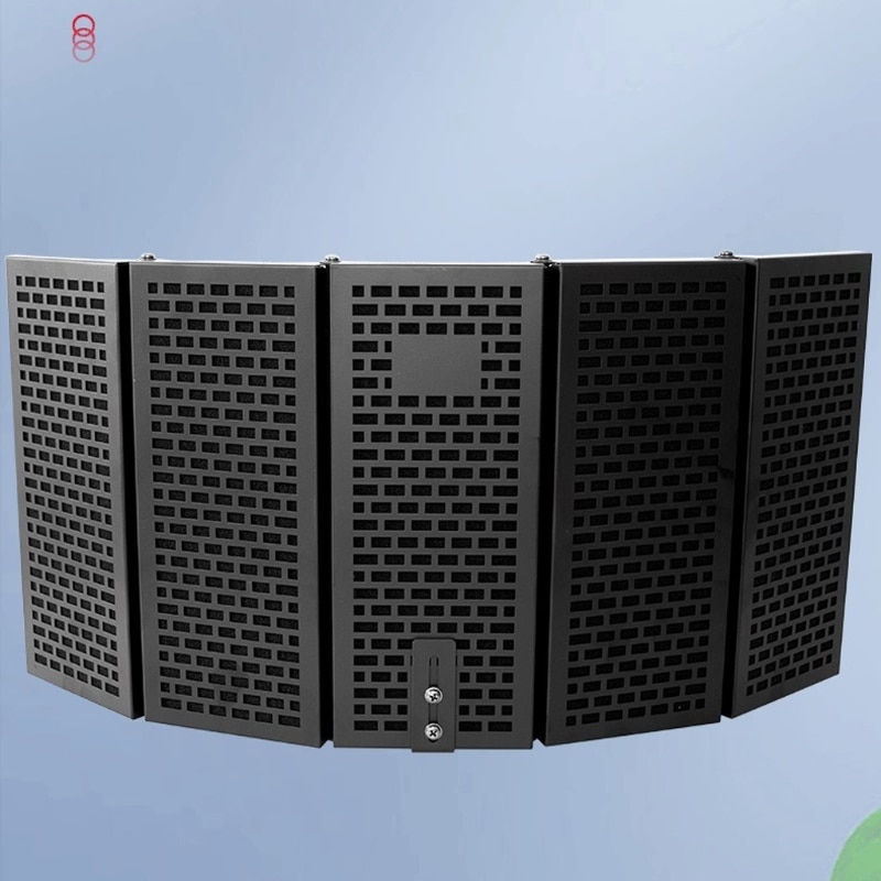H8WA Isolation Shields Can Fixed on a Desk or Tabletop Microphone Stand Sturdiness 11.02in Panel Heights Long Lasting Perform enlarge