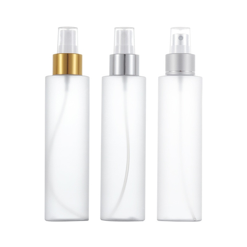 10/150ml Frosted Pet Plastic Spray Bottle Lotion Pump Sprayer Mist Spray Refillable Bottles Travel Portable Comestic Container