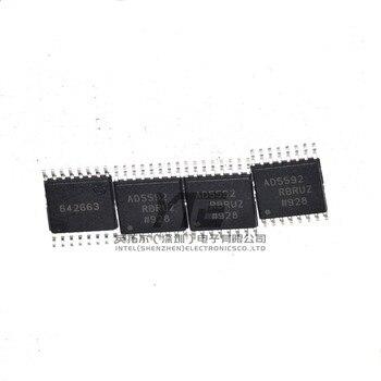 10PCS/LOT AD5592RBRUZ AD5592 TSSOP-16 SMD special purpose converter chip  New In Stock Original Quality 100%