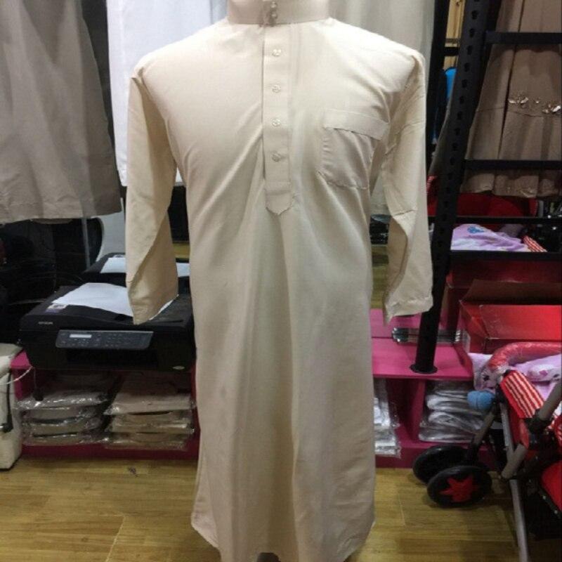 Мужское платье для поклонения в Дубае, мужское белое мусульманское платье для путешествий