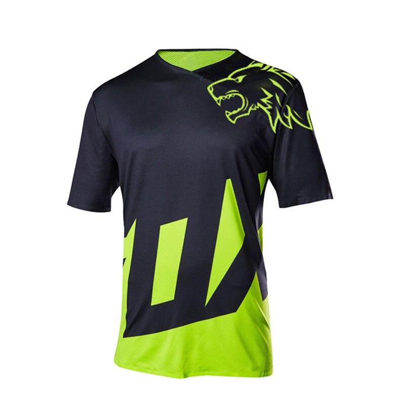 2020 new man moto jersey enduro motorcycle downhill ropa mx racing clothing quick dry maillot velo mtb tshirt FXR FXR  DH