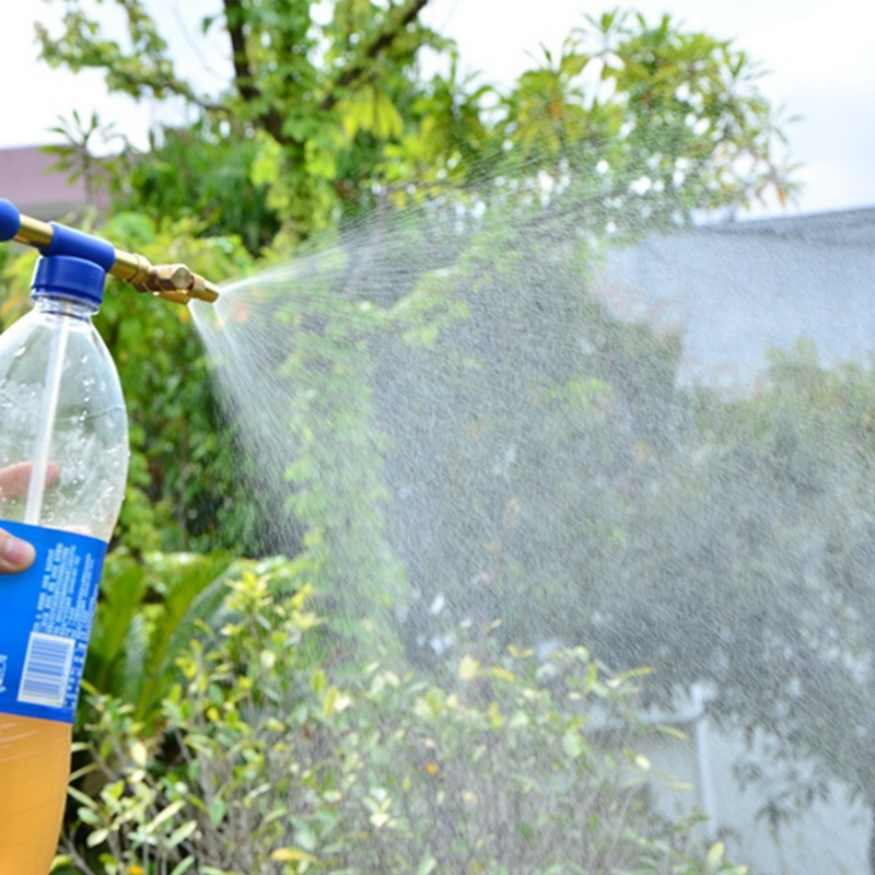 Handheld Gun Mini Water Bottles Plastic Sprayer Head Pesticide Spraying Head Garden Bonsai Pressure Sprayer Agriculture Tools