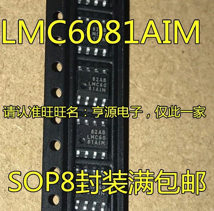 LMC6081 LMC6081AIM LMC6081AIMX LMC6081IM
