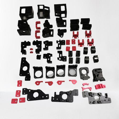 ترقية إطار من سبائك الألومنيوم للطابعة ثلاثية الأبعاد ، مجموعة أجزاء مطبوعة ، أجزاء معدنية آلية CNC كاملة لـ Voron 2.4