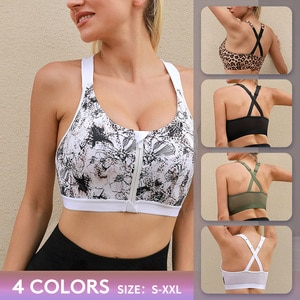 VUTRU Women Yoga Sport Bra Shockproof Sexy Back Sports Bras Breathable Athletic Fitness Running Gym Vest Tops Sportswear XXL