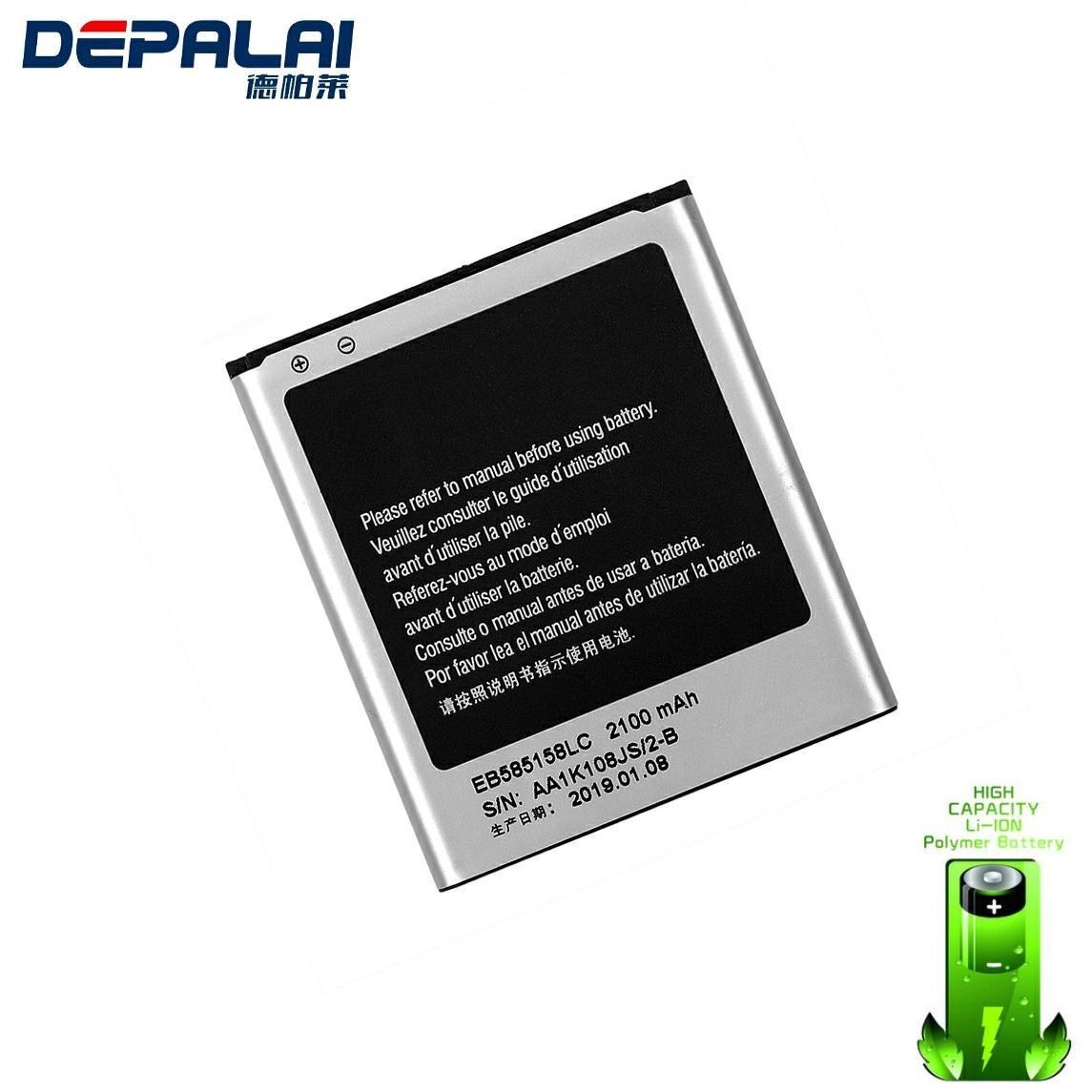 Alta calidad batería de reemplazo EB585158LC para Samsung Galaxy Express 2 SM-G3819 SM-G3819D SM-G3812 SM-G3818 2100mah