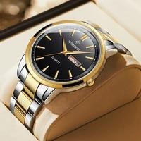 doit 2021 new watch mens quartz watch luxury brand chronograph mens sports watch waterproof stainless steel mens watch