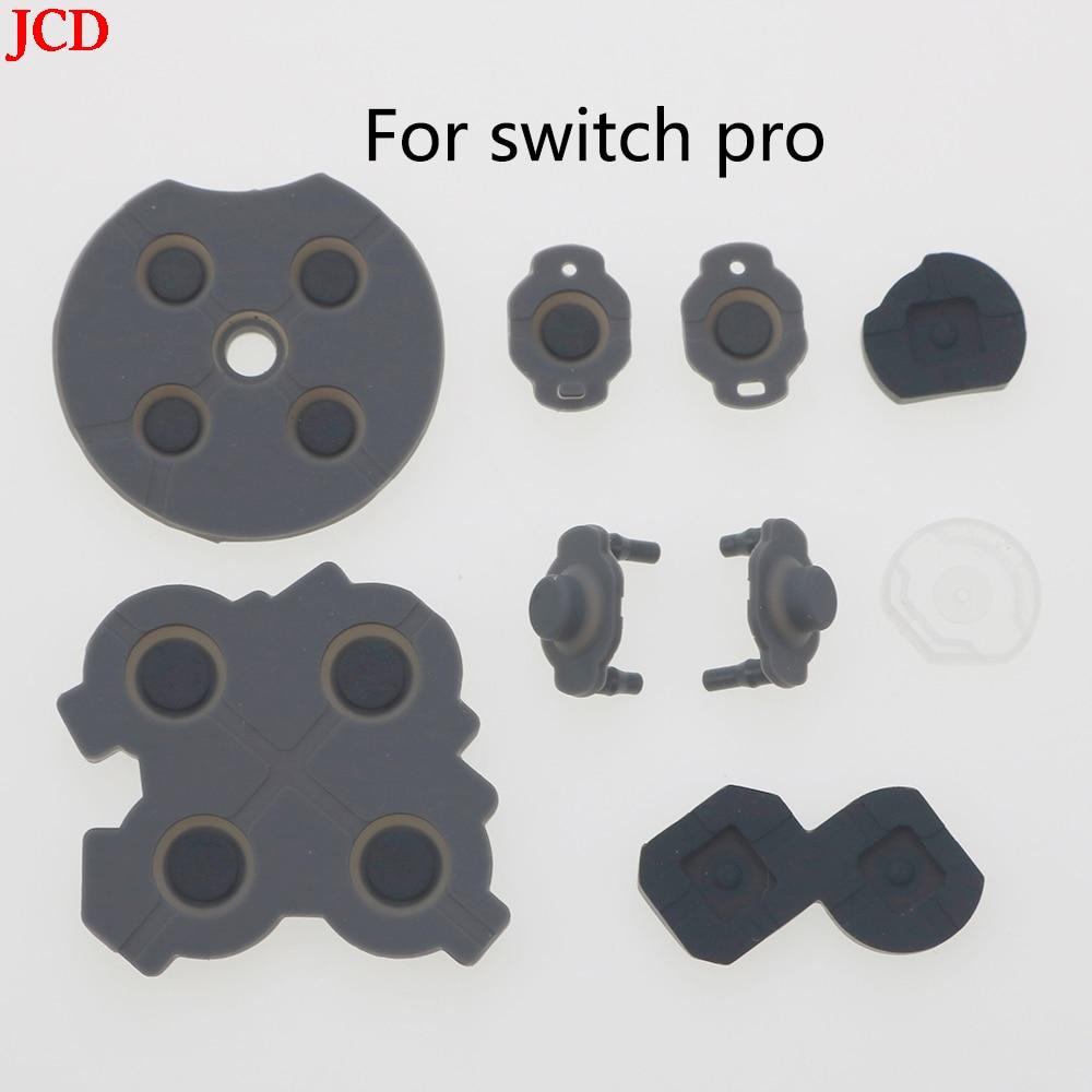 JCD 20 مجموعة من مفاتيح إصلاح التبديل NS برو ، بوتون دي Llave LR ZL ZR ، كونترولادور ABXY موصل لاصق