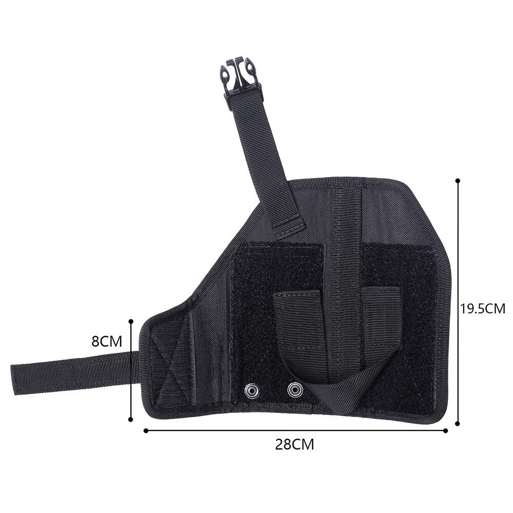 Universal Tactical Gun Holster Molle Belt Waist Pistol Holster Handgun Holder Right Hand Military Hunting Shooting Glock Holster