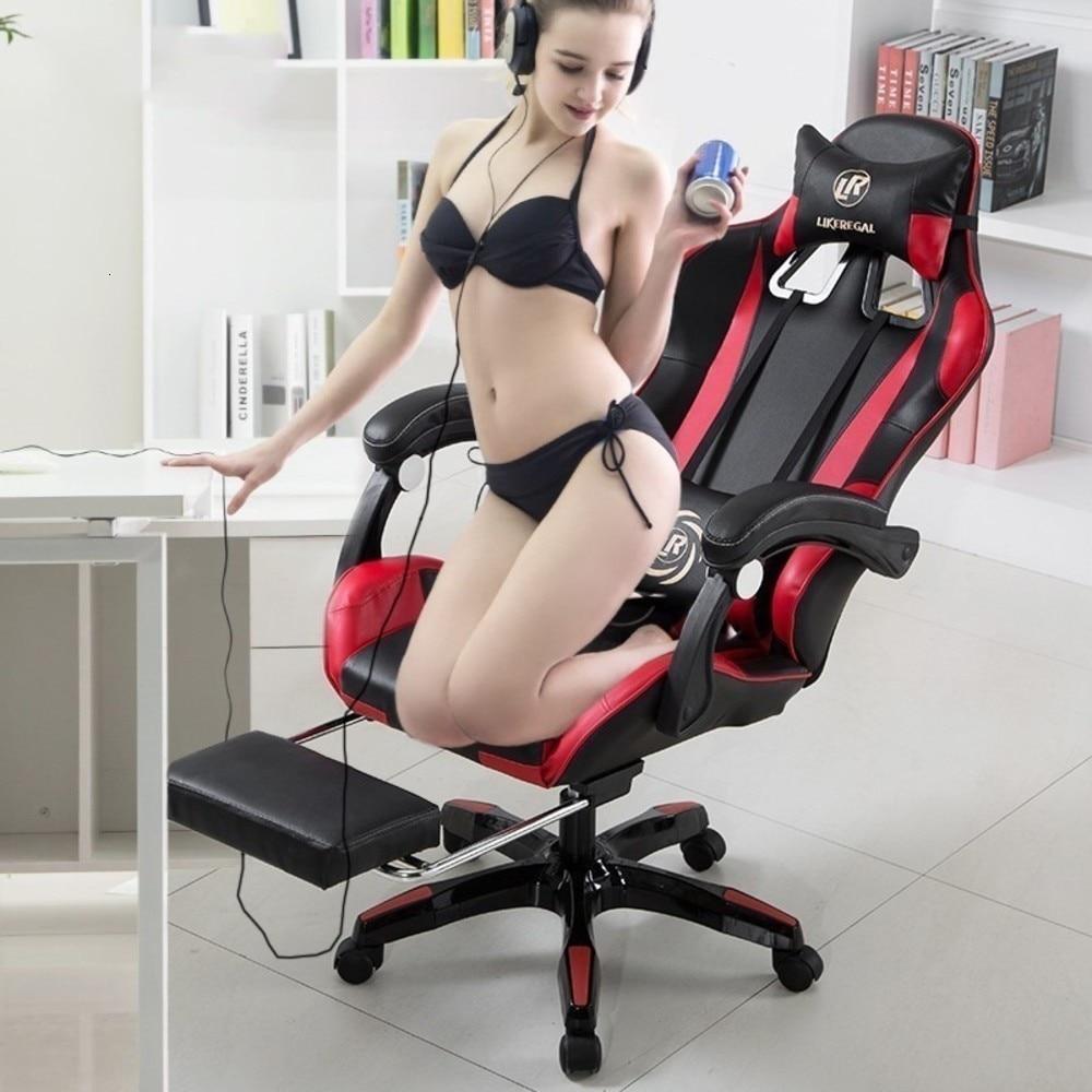 Кожаное офисное игровое кресло, эргономичное кресло, офисные компьютерные массажные кресла, офисная мебель, эргономичное офисное кресло