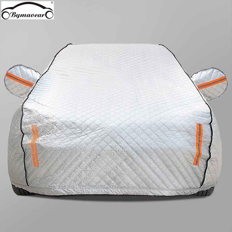 Car cover Four seasons aluminum film plus cotton padded car cover winter windshield car cover hail /