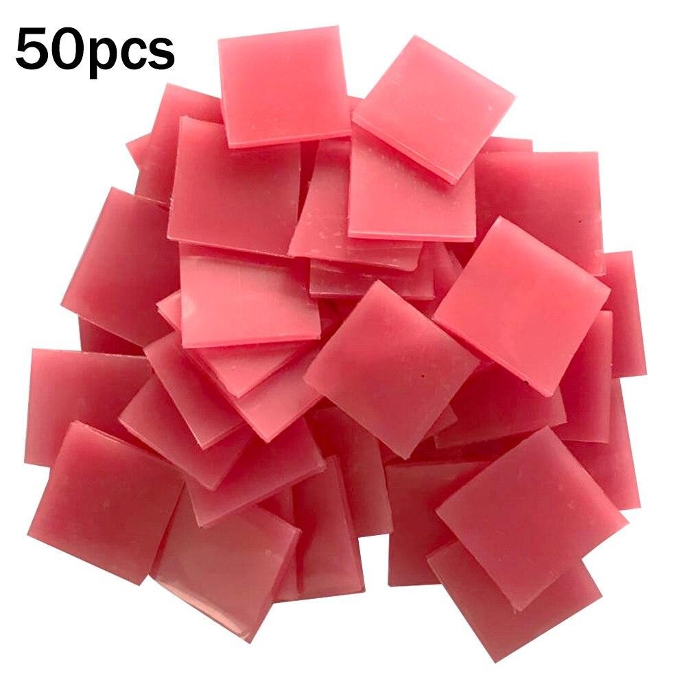 2*2cm cola ferramenta de argila pintura diamante acessórios nouveaute 50 pçs ponto furando redondo quadrado caneta caixa de armazenamento etiqueta papel